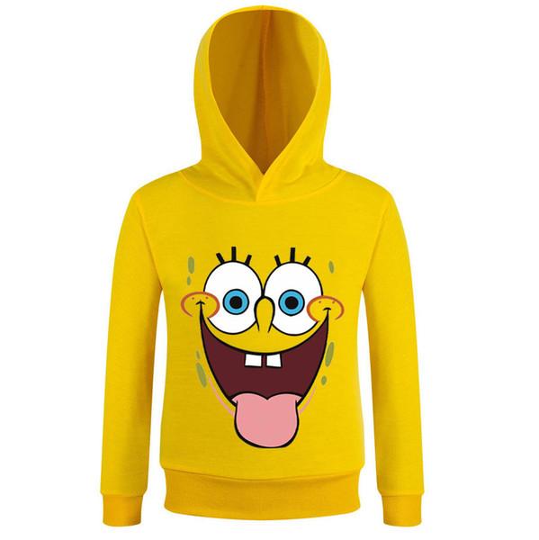 Детские с длинным рукавом детская одежда Big Boy мультфильм свитер корейского издания Boy Big Eye Smiley Sweater BBFC-KHDYE