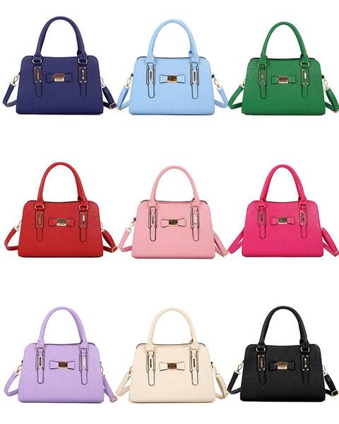 2019 novo 9-color frete grátis estilo europeu e americano senhoras e bolsas das mulheres bolsas de moda bolsa de ombro produtos quentes