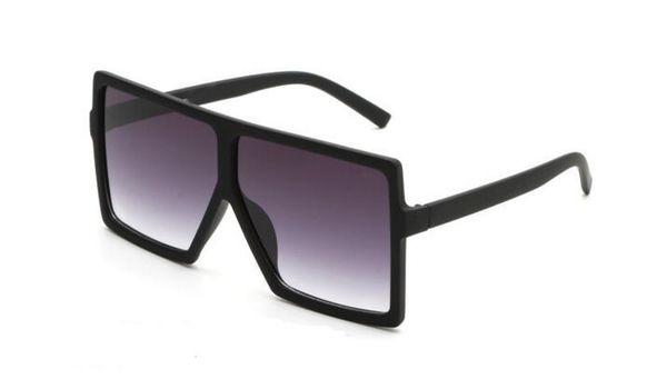 New Brand Y183 Marke Stil großen quadratischen Rahmen Sonnenbrille Frauen Sonnenbrille