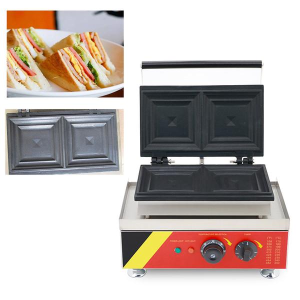 220v 110v Electric Egg Sandwich Maker Mini Grilling Panini Baking Plates Toaster Press Non-Stick waffle Breakfast Machine