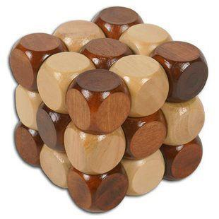 magic cube suzakoo Wooden intelligence toy one pcs selling magical cube