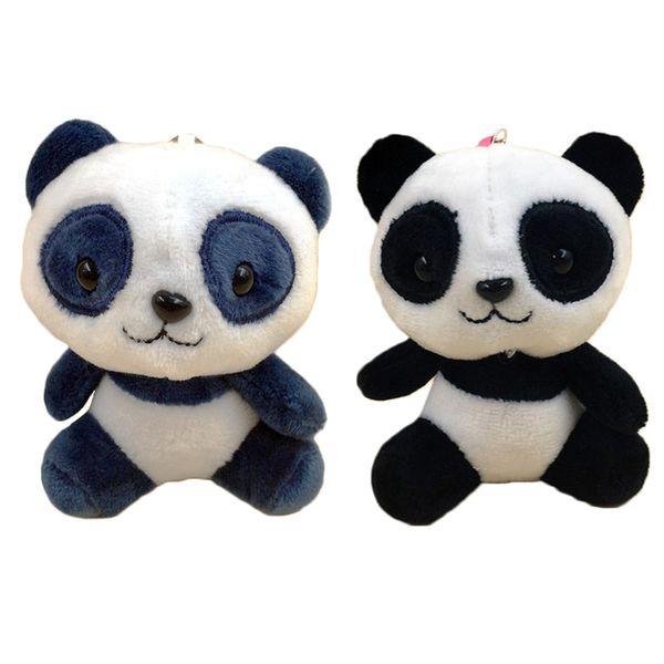 Simpatici giocattoli di peluche per bambini Giocattoli di peluche morbidi Giocattoli per bambole Simpatico cartone animato Panda Pendente Portachiavi Regalo per bambini