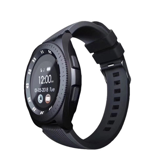Z4 Bluetooth Smartwatch Wristband Android Smart Watch With Camera TF SIM Card Slot Gift Watches Strap With Retail Package