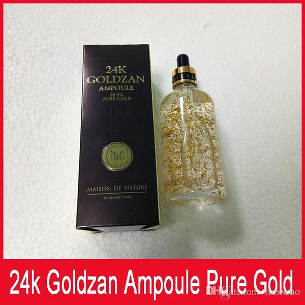 Skinature 24k Goldzan Ampoule 24 K Face Cream Skin Enhancing Essence Oils Primer Face Skin Care free shipping