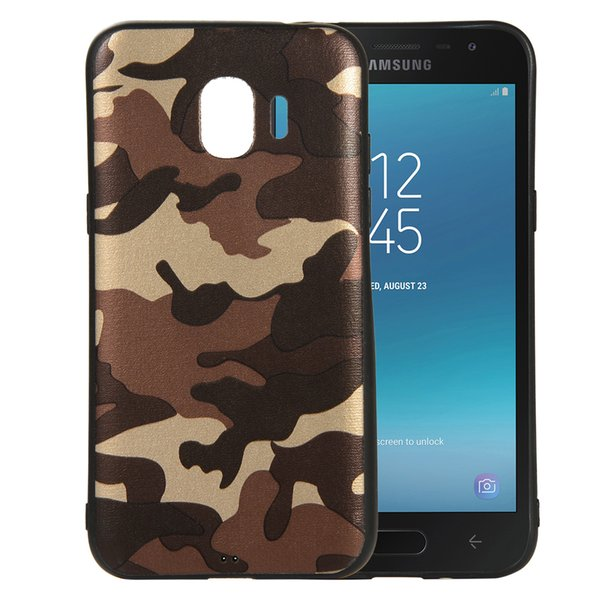 Camouflage Slim-Fit Anti-Scratch ShockProof Flexible TPU Gel soft Case for SAMSUNG GALAXY J2 CORE J2 PRIME J2 PRO 2018