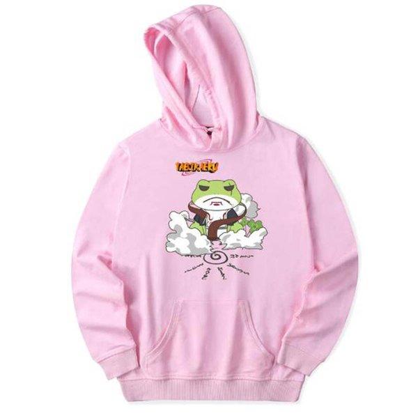 NARUTO Frog Spring Anime Sweatshirts Hoodie Women/Men Casual Harajuku Long-Sleeved Pullovers Hoodies Men Plus Size 4XL