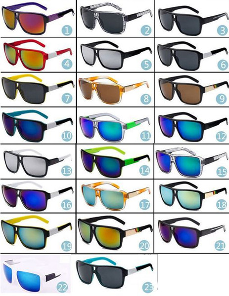 23 Colors Top Selling Jams Style UV400 Sunglasses Men Outdoor Super Quality Sun Glasses K008 Summer Sports Gafas De Sol surf sports sunglass
