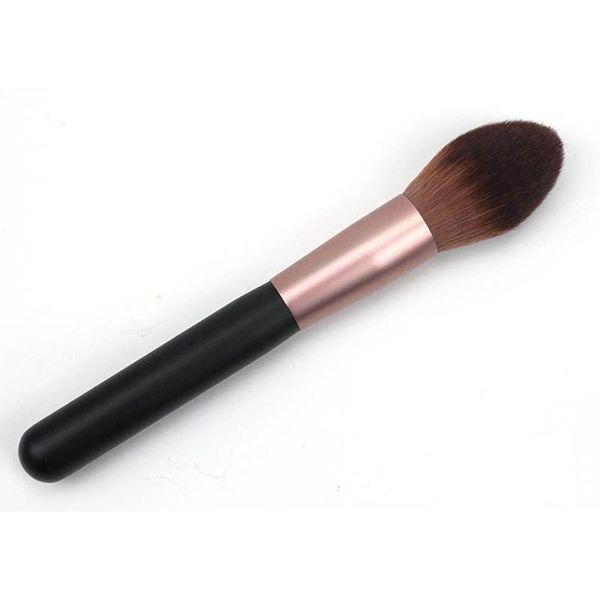Women Professional Makeup Brush Super Soft Powder Blusher Loose Brush Flame Shape Universal Makeup Blush Beauty Tools 3001180