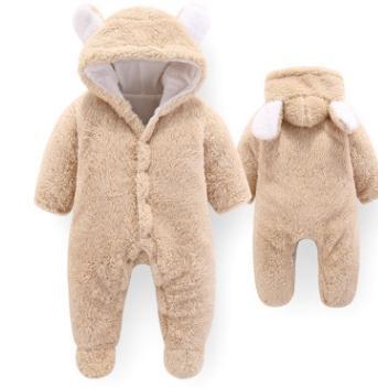 #3 Baby Hooded Rompers