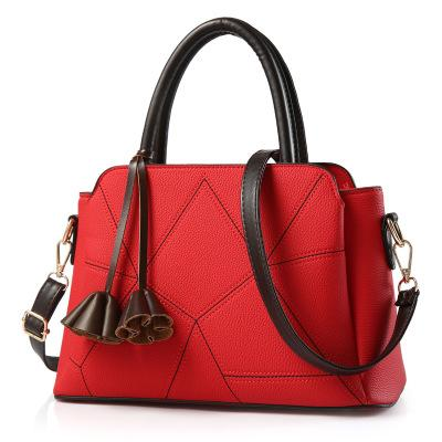 Women's bag autumn and winter sale trend ladies handbag Messenger bag simple shoulder bag day Europe and America package