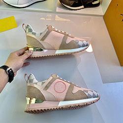 2020 NUEVOS zapatos casuales de cuero de lujo de las mujeres zapatillas de deporte de los hombres del diseñador de zapatos s0231 color mezclado manera del cuero genuino
