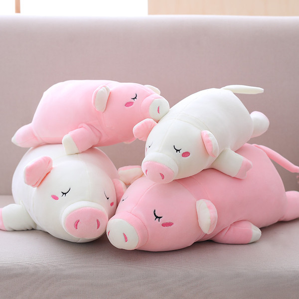 35cm-85cm Down Cotton Cute Pig Plush Toys Stuffed Animals Soft Plush Pig Pillow Decor Birthday Valentine Gifts for Girls Kids