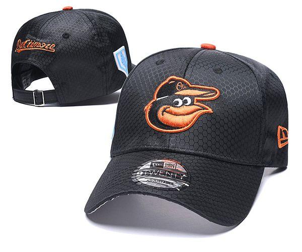 Popular Hip Hop Orioles Baseball Snapback chapéus marcas Hip Hop out porta Sun caps homens Barato Flat Bill Esporte moda ajustável Ossos das Mulheres
