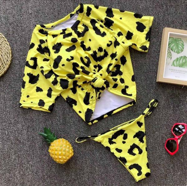 Желтый Leopard