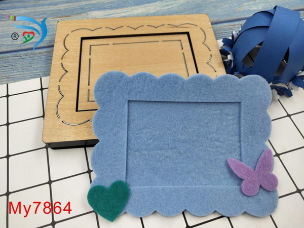 Cadre détachable Moules en bois Découpés Accessoires En Bois Die Regola Acciaio Die Misura (My) T190708