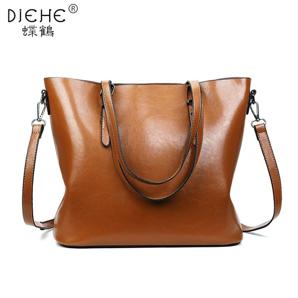 Women Leather Shoulder Bags Girls Vintage Crossbody Messenger Bag Fashion Lady Handbag and Purse Femme Sac A Epaule Bolso Brown