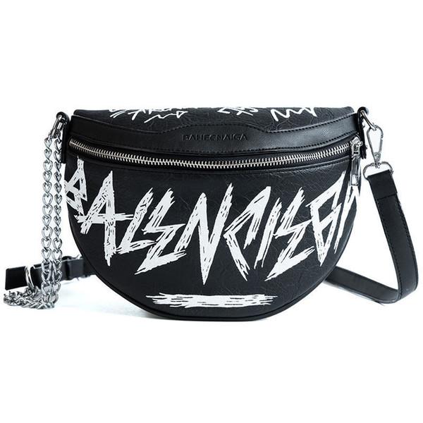 Fanny Pack Fashion Women Waist Bag Ladies Women's Chest Bag Chains Belt Messenger Bags Handbags Female Famous Brand Shoulder Sac