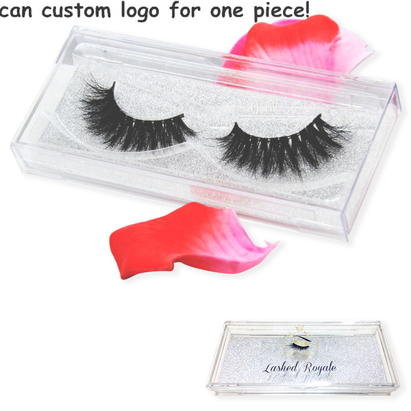 top popular 1 pair 80styles 3D mink eyelashes Private Label 100% real mink fur Handmade False eyelash crossing lashes individual strip thick lash 2020