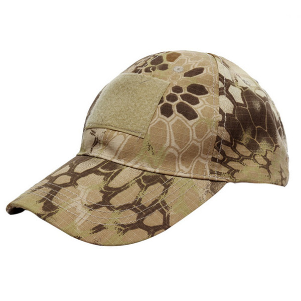 100% cotton tactical multicam camo baseball cap camouflage custom outdoor sports shaded soft hat snapbacks for men and women thumbnail