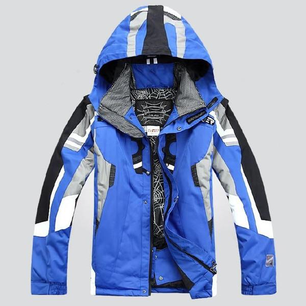 Человек-паук Мужская Альпинизма Лыжный костюм Новая мода сгущает Tops Luxury Sportswear Бесплатная доставка