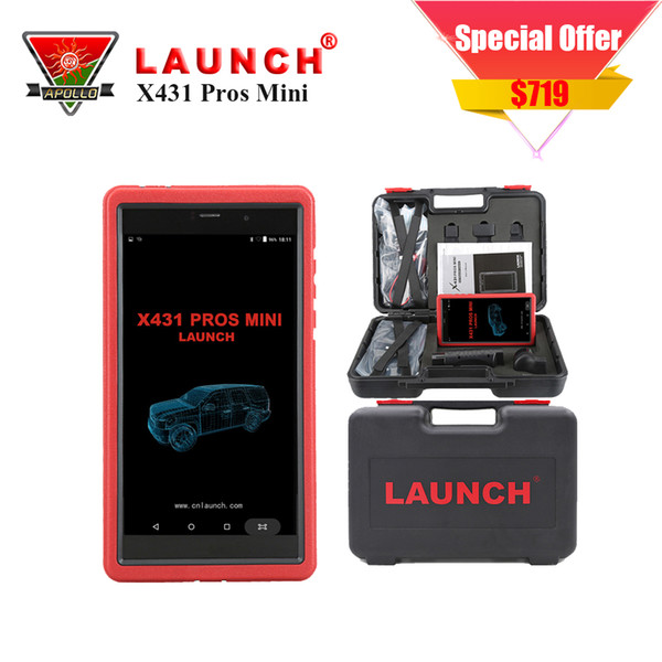 New Released Launch X431 PROS MINI Automotive Scanner Diagnotist Diagun IV 2 Years Free Update