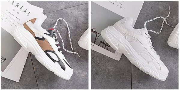 2019 spring new girls casual shoes Korean fashion sports shoes women's shoes wild breathable mesh surface increased, breathable, wear-resist