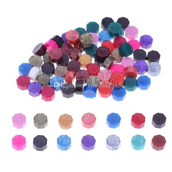 50pcs/lot Ancient Sealing Wax Sealing Wax Beads DIY Stamping Envelope Documents Decor Wedding Stamp Ancient Sealing Wax Supplies