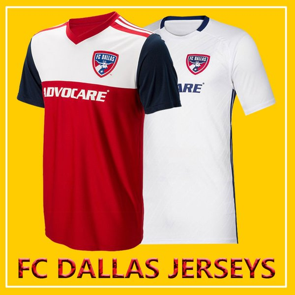 buy online a04d2 6461a 2019 2019 2020 FC Dallas Soccer Jersey Home Away Top Thai Quality 19 20 MLS  FC Dallas CANNON GRUEZO ACOSTA HEDGES Football Jerseys Shirt From ...