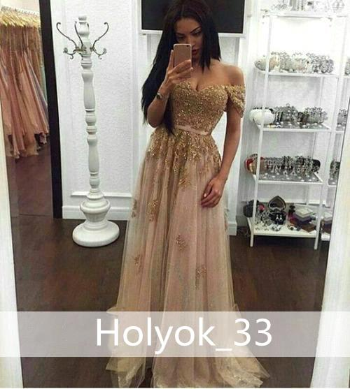 Sparkly Gold Prom Dresses Long 2019 New Design Sweetheart Off the shoulder Beading Crystal Evening Gown Lace Party Dress Graduation Dresses