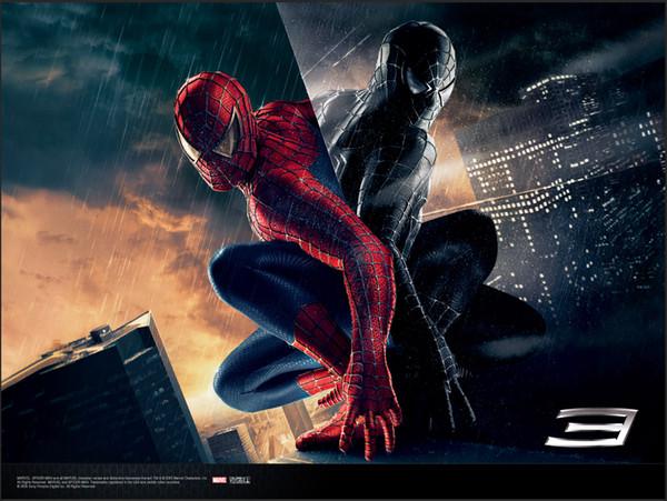 7x5ft Superhero Spiderman Spider Man Dark Clouds City Custom Photo Studio Background Backdrop Vinyl 220cm x 150cm