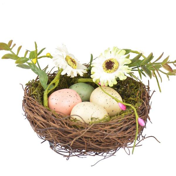 Handmade Bird Nest Bird Nest Handmade for Fairy Garden Decoration House Decorations Home Decor Children Gift Free Shipping