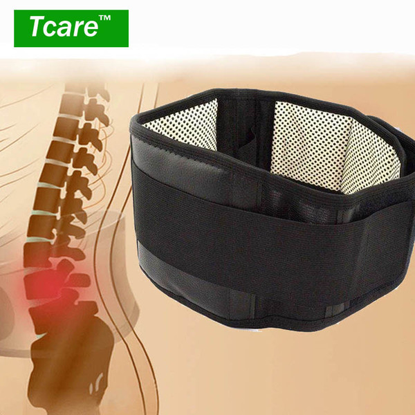 * Tcare Adjustable Waist Tourmaline Self heating Magnetic Therapy Back Waist Support Belt Lumbar Brace Massage Band Health Care