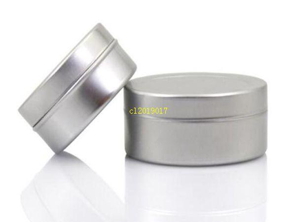 top popular free shipping 20g empty aluminium cream jars,cosmetic case jar,20ml aluminum tins, metal lip balm container 2021