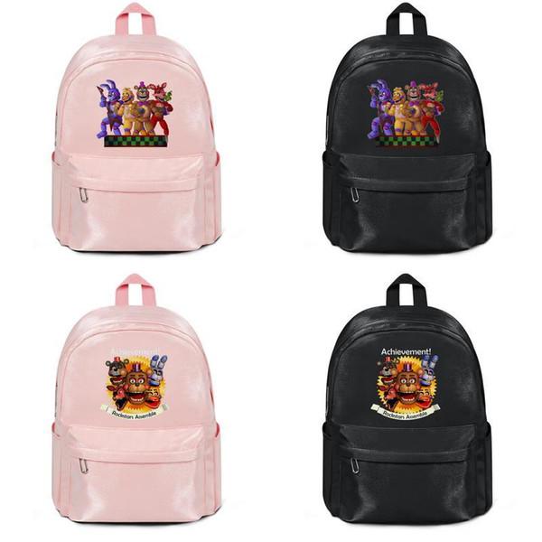 Cinco Noites Em Freddy Bonnie Rockstar Fabricantes que vendem designer mochila bolsas de ombro sacos de Mens Nylon Mulheres Casuais saco de Viagem