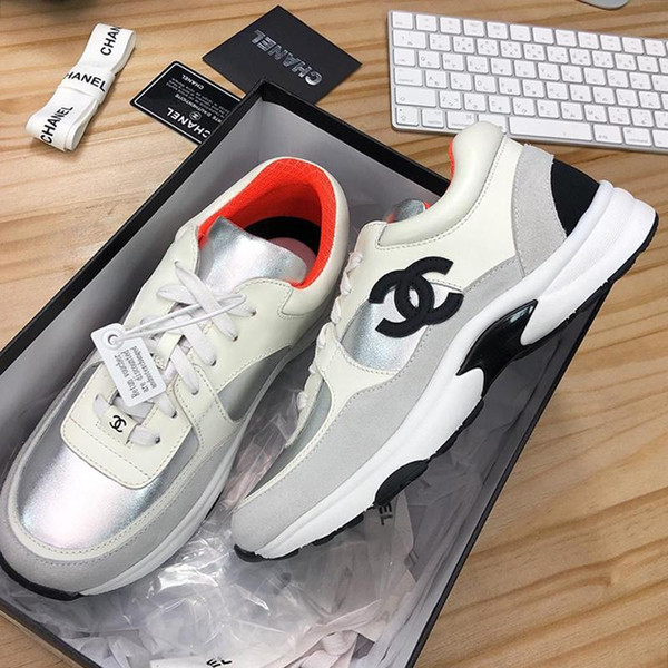 2020 Fashion Sneakers Womens Shoes Casual Breathable Adult Tenis Footwear Platform Trend with Box Chaussures de femme Womens Casual Shoes
