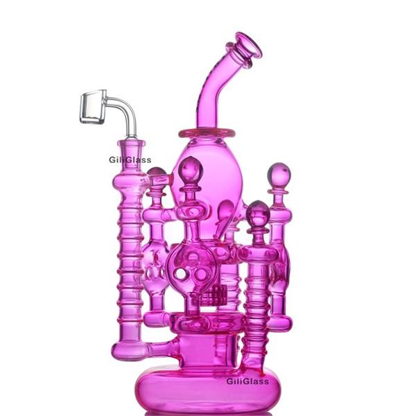 Gili-046 rosa mit Quarz bangen