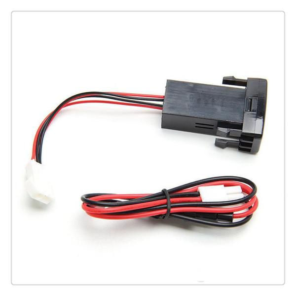 Dual USB Car Charger for Toyota VIGO Safe Car Socket Adapter 12V Car Socket Adapter Free Shipping