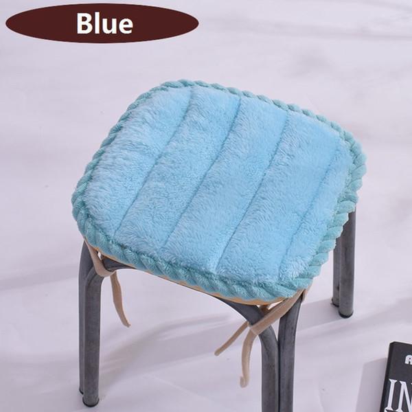 Solid Thick Stool Cushion High Quality Chair Seat Cushion Kids Seat Pad Antiskid Cute Pillow Cushion Home Decor 30x30/35x35