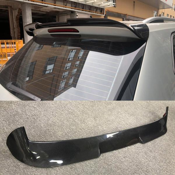 Углеродное волокно Глянцевая Авто Задний спойлер Багажник на губу для VW Volkswagen Tiguan L 2018-2019 Не подходит R-line