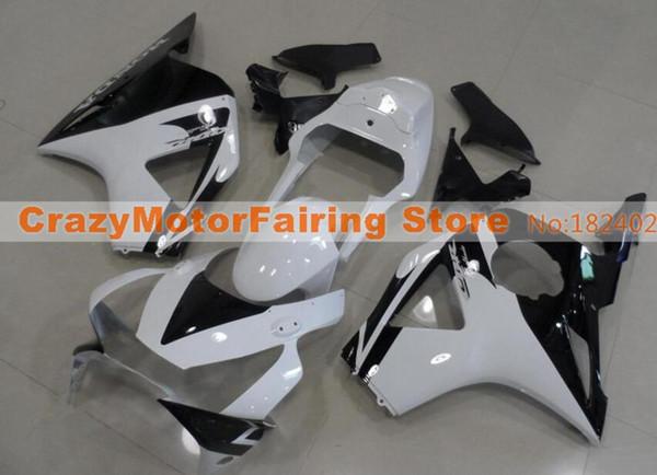 New Injection ABS motorcycle fairings kit for HONDA CBR 954RR 954 2002 2003 CBR954RR 02 03 CBR 900RR fairings parts custom black white