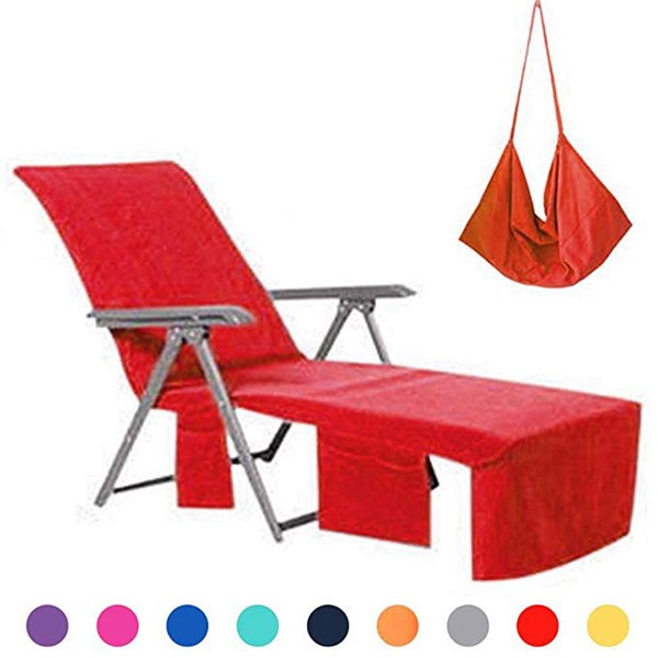 Admirable Lounge Chair Cover Microfiber Beach Towel Swimming Pool Lounge Chair Cover With Pockets For Holidays Sunbathing Quick Drying Couch Recliner Covers Spiritservingveterans Wood Chair Design Ideas Spiritservingveteransorg