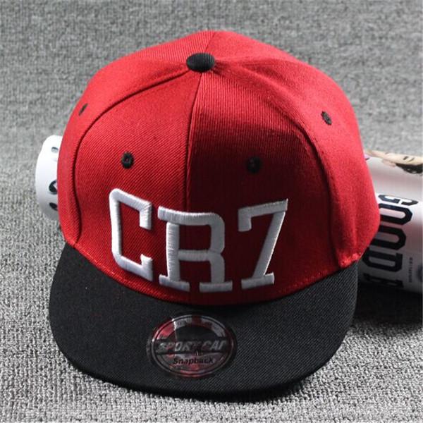 Yeni Moda Çocuk Ronaldo CR7 Neymar NJR Beyzbol Şapkası Şapka Erkek Kız Çocuklar MESSI Snapback Şapkalar Hip Hop Kapaklar Gorras