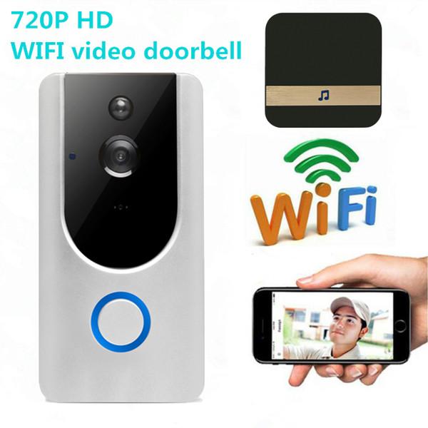 Vikewe Dash Cam M2 telecamera per campanello wireless Wifi intelligente videocitofono citofono sensore PIR allarme visione notturna auto dvr