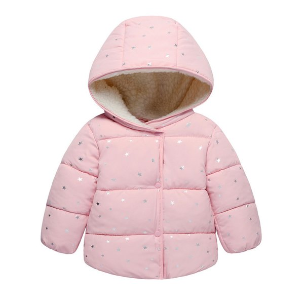 good qulaity Little Girl Jacket Children Girl Warm Coat Baby Clothes Winter Bebe Clothing Infant Clothes Toddler Kids Winter Coat