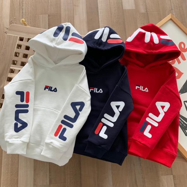 Venta caliente steetwear Hip hop de las muchachas de lujo Italia marca de ropa de rayas O-cuello clásico pulóver sudadera sudaderas con capucha para niños Jumper