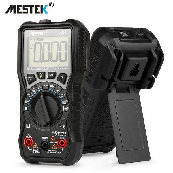 MESTEK DM90 mini multimeter digital multimeter auto range tester multimetre better than pm18c multi meter multitester
