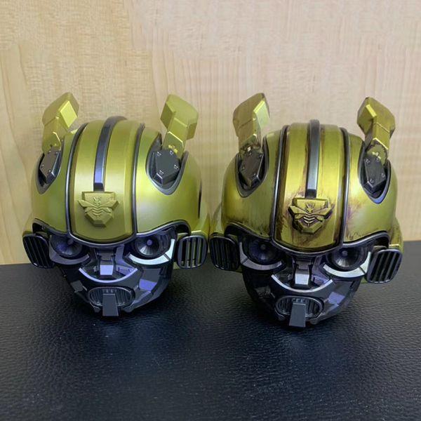 2019 popular Bumblebee cassa Bluetooth Speaker mini Transformers Christmas Kid Gift LED Flashing Light BT boombox hoporler Birthday cute hot