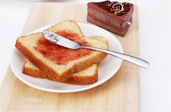 top popular Stainless Steel Utensil Cutlery Butter Knife Cheese Dessert Jam Spreader Breakfast Tool Kitchen Tableware Knives free shipping 2019