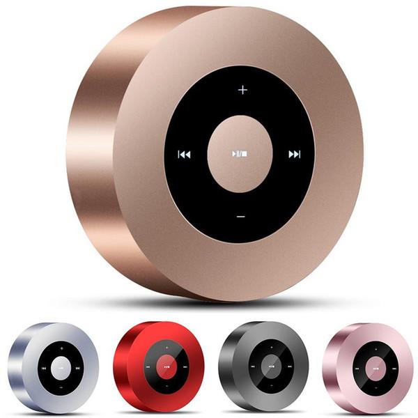 NOUVEAU A8 sans fil Bluetooth haut-parleur Mini haut-parleurs minces portables avec son HD grande capacité et écran tactile + boîte de vente au détail