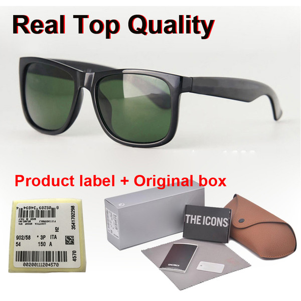 ( glass lens ) fashion men women sunglasses plank frame coating sport vintage sun glasses with retail cases and label thumbnail